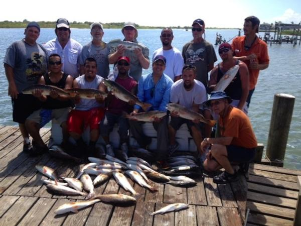 Port O'Connor Texas Fishing Trips